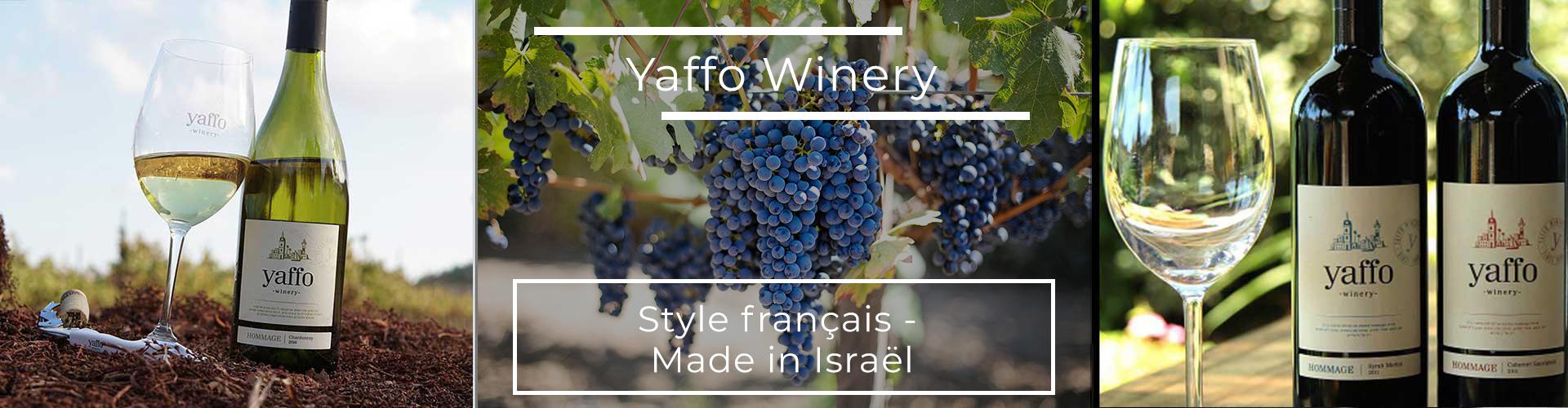 Negev Desert YAFFO WINERY - Vins & Epicerie Fine casher/cacher d'Israël à Genève en Suisse - Negev Desert
