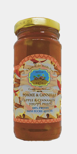 Moshav confiture apple cinnamon-Israeli-kosher-food-online-store-geneva-switzerland